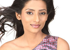 Indian girl in nice face expression Stock Photography