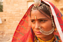Indian girl portrait Stock Photography