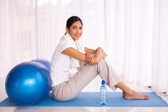 Indian girl sitting Royalty Free Stock Photography