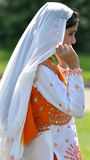 Indian Girl in Traditional Dress. Royalty Free Stock Photography