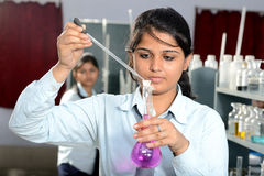 Indian Girls Students Royalty Free Stock Images