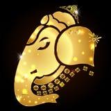 Indian god Ganesha, Ganesh idol. Created Indian god Ganesha, Ganesh idol vector illustration