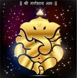 Indian god Ganesha, Ganesh idol. Created Indian god Ganesha, Ganesh idol stock illustration