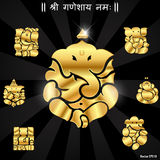 Indian god ganesha, Ganesh idol. I have created Indian god ganesha, Ganesh idol stock illustration