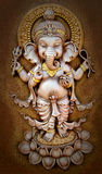 The Indian God Ganesha made from clay Royalty Free Stock Image