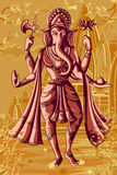Indian God Ganpati in blessing posture Royalty Free Stock Photos