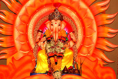 Indian God-Lord Ganesh-XII Royalty Free Stock Photos