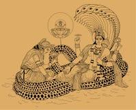 Indian God Shiva Royalty Free Stock Image