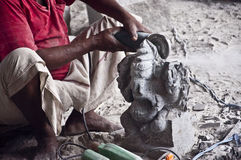 Indian god statues Stock Photography