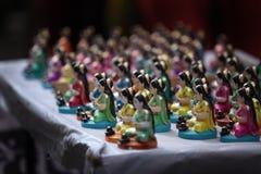 Indian Goddess Idols Stock Photography