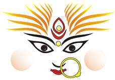 Indian goddess Ma Durga Stock Photography
