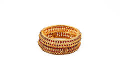 Indian Gold Bangles Royalty Free Stock Photos