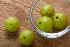 Indian Gooseberry. Fresh Indian gooseberry, alternative medicine stock photos