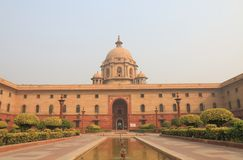 Indian government office New Delhi India Royalty Free Stock Photos