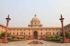 Indian government office New Delhi India Stock Image