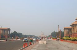Indian government office New Delhi India Royalty Free Stock Images