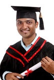 Indian graduate Royalty Free Stock Image