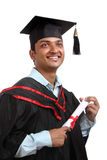 Indian graduate Royalty Free Stock Images