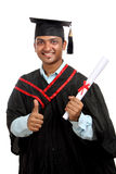 Indian graduate Stock Image
