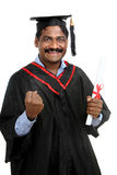 Indian graduate Royalty Free Stock Photos