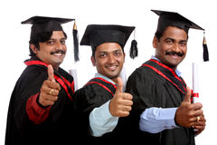 Indian graduates Stock Images