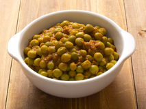 Indian green pea curry Stock Photos