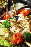 Indian grilled chicken Stock Photography