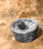 Indian Grinding stone Stock Photos