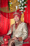 Indian groom. Beautiful shot of indian punjabi groom royalty free stock images