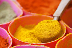 Indian ground spices Royalty Free Stock Photo