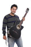 An Indian guitar player Royalty Free Stock Image