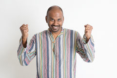 Indian guy celebrate Royalty Free Stock Images