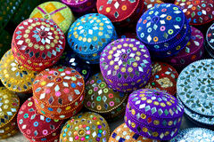 Indian hand made crafts Royalty Free Stock Images