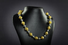 Indian handmade necklace Royalty Free Stock Photo