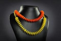Indian handmade necklace Stock Photos