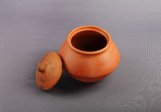 Indian Handmade Pot Royalty Free Stock Images
