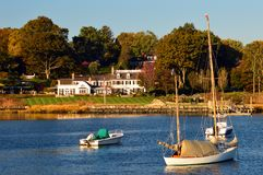 Free Indian Harbor In Greenwich Connecticut Stock Photo - 158025180