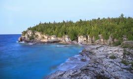 Indian Head Cove in Georgian Bay, Lake Huron royalty free stock images