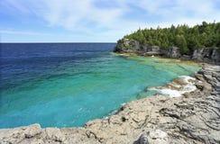 Indian Head Cove in Georgian Bay, Lake Huron royalty free stock photography