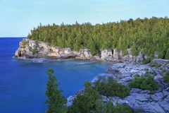 Indian Head Cove in Georgian Bay, Lake Huron royalty free stock image