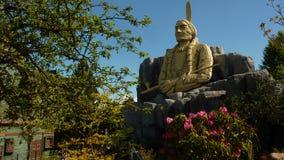 Indian head at Legoland. Indian head sculpture at Legoland Denmark Billund stock photos