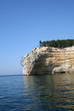 Indian head_Pictured rock. Indian head shapeed Pictured rock Royalty Free Stock Images