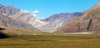 Indian Himalayas. Trek from Kargil to Padum - Zanskar, Ladakh, Jammu and Kashmir, India Royalty Free Stock Photography