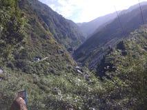 Indian Himaliyan valley royalty free stock photos