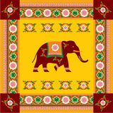 Indian (Hindu) Elephant Design Stock Photos