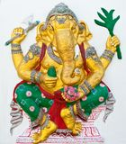 Indian or Hindu ganesha God Named Siddhi Ganapati Stock Images