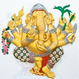 Indian or Hindu ganesha God Named Vighna Ganapati Royalty Free Stock Images