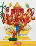 Indian or Hindu God Ganesha avatar Stock Photo