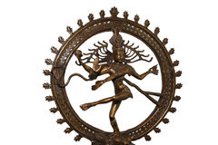 Indian hindu god Shiva Nataraja Stock Image