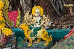 Indian Hindu Goddess in temple Thailand Stock Photo